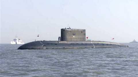 cháy tàu ngầm ấn độ