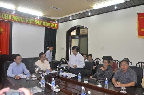 Ông Trần Văn Thành, Giám đốc Sở Y tế tỉnh Quảng Trị công bố kết luận ban đầu về vụ 3 trẻ tử vong sau tiêm vắc-xin viêm gan B