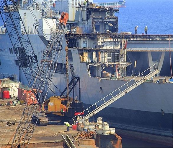 Con tàu đã rời nước Anh từ tháng 5 vừa qua và đã bị tháo dỡ trong gần 1 tháng ở Thổ Nhĩ Kỳ