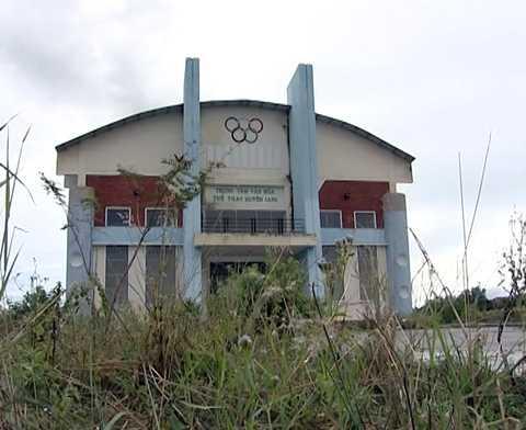 nhà thi đấu, huyện la pa