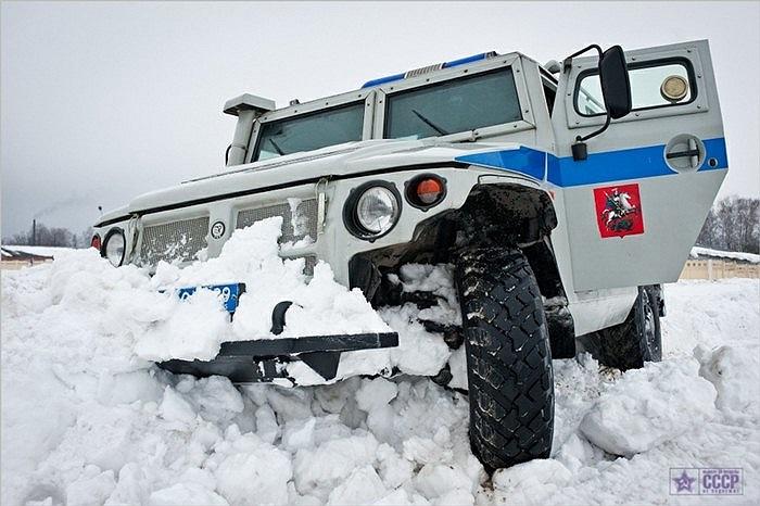 Xe chở quân GAZ-233036 của OMOH