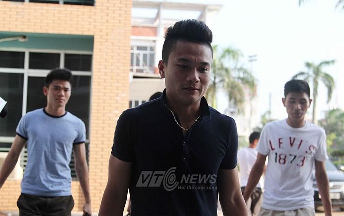 Tiền đạo Trần Phi Sơn lần đầu lên tập trung U23 Quốc gia.