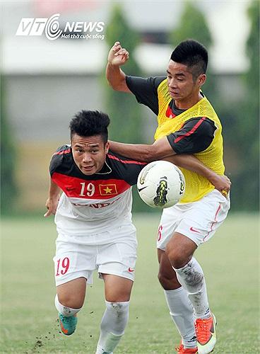 Tiền đạo Trần Phi Sơn từng tỏa sáng trong màu áo U21 Báo Thanh Niên tại giải U21 Quốc tế năm 2012.