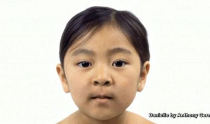 Một nhà sản xuất phim tại Mỹ gần đây đã tạo ra một video, mô tả quá trình lão hoá khuôn mặt của một phụ nữ có tên là Danielle. Trong ảnh là khuôn mặt của người này lúc còn là đứa trẻ.