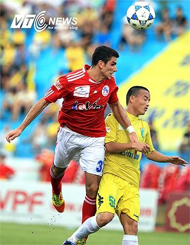 V.Hải Phòng dù không còn mục tiêu tại V-League 2013 nhưng cũng quyết tâm khẳng định sức mạnh của mình trước tân vương.