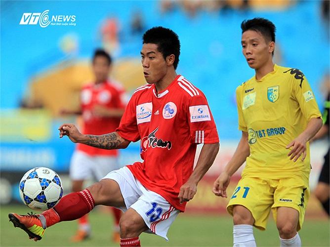 Quang Hải những vòng đấu gần đây luôn để lại dấu ấn trên sân trong màu áo đội bóng đất Cảng.