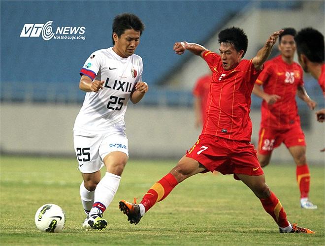Kashima Antlers sau đó còn vượt lên dẫn trước.