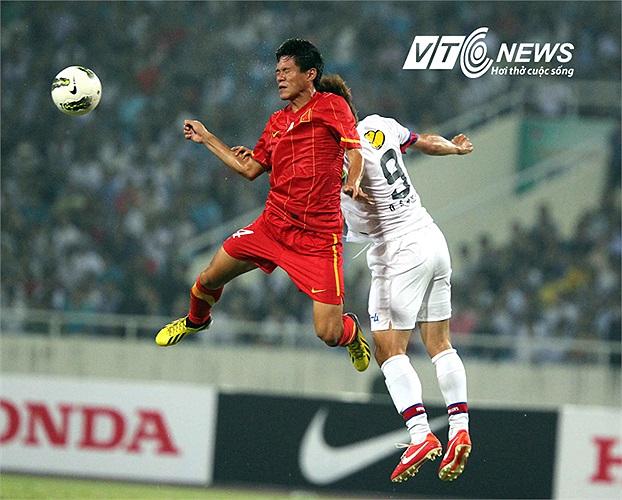 U23 Việt Nam chống bóng bổng khá tốt.