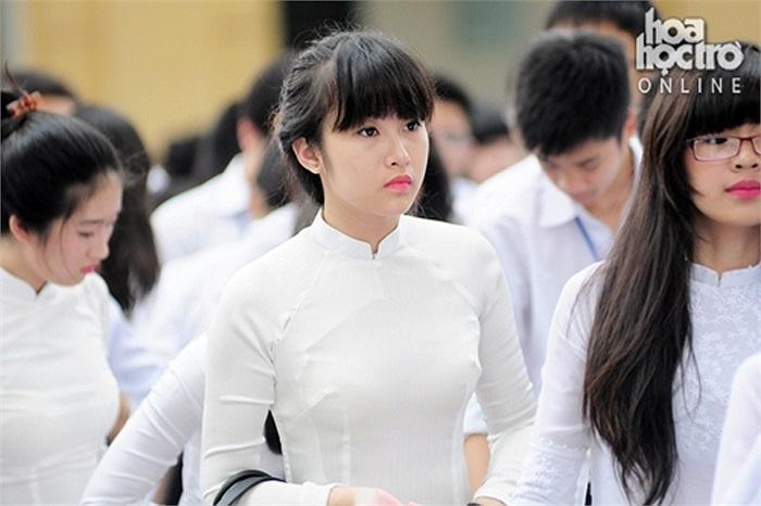 Những thiếu nữ xinh đẹp của trường Chu Văn An