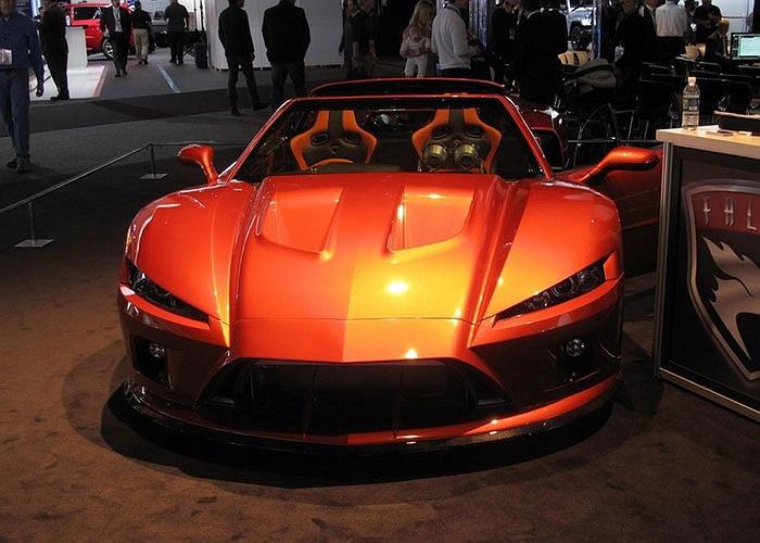 2. Falcon Motorsports F7. Giá bán: 195.000 USD – 250.000 USD. Sử dụng động cơ 7L V8 620 mã lực, chiến mã Ý tăng tốc từ 0-96 km/h mất 3.5 giây và đạt tốc độ tối đa 305 – 320 km/h.