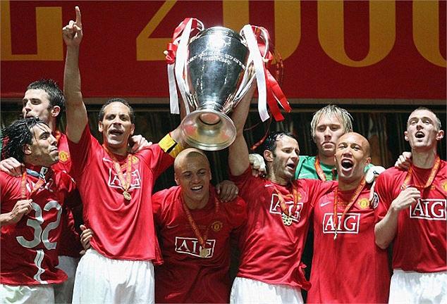 MU có chức vô địch Champions League lần thứ ba vào năm 2008
