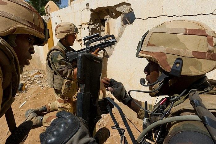 Binh sĩ quân đội Pháp đang đóng quân tại Mali