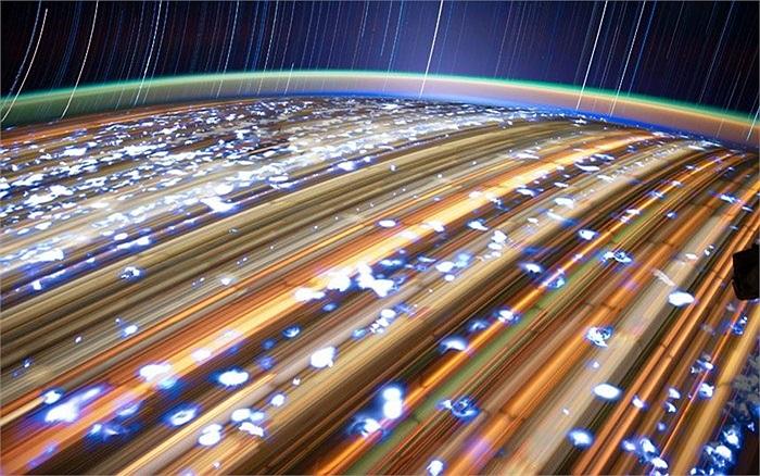 Hình ảnh ấn tượng của Trái Đất chụp từ không gian