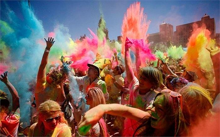 Lễ hội màu ở Cape Town, Nam Phi