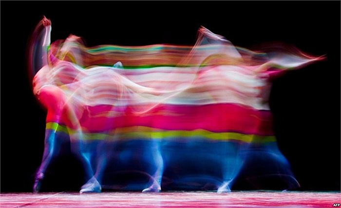 Điệu múa của một vũ công tại Emerging Dancer 2013, London