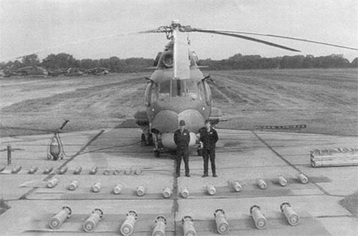 Trực thăng săn ngầm Mi-14PL tại Cam Ranh