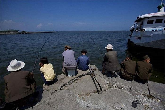Thú vui câu cá của người Triều Tiên