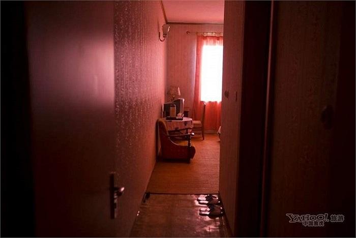 Bên trong một phòng của khách sạn Bình Nhưỡng