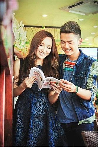 Cặp đôi Vietnam Idol: Cao Thanh Thảo My và Thanh Tùng.