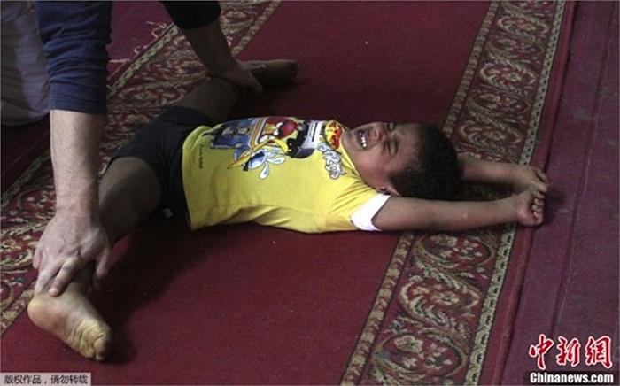 Cảnh tập luyện của các em nhỏ Ai Cập