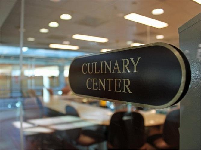Khu vực kiểm tra được gọi là 'Culinary Center' - tạm dịch 'Trung tâm ẩm thực'