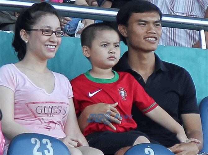 Gia đình nhỏ của Phan Văn Tài Em