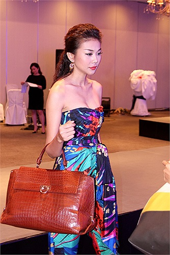 Sau lần đó, Thanh Hằng dính mác siêu mẫu hàng hiệu, và cô liên tiếp xuất hiện gây chú ý với những trang phục có mức giá không ít hơn 8 con số 0.