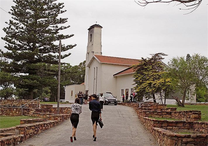 Khu đài hỏa táng Victoria ở thành phố Port Elizabeth, Nam Phi, quê hương của Reeva Steenkamp.