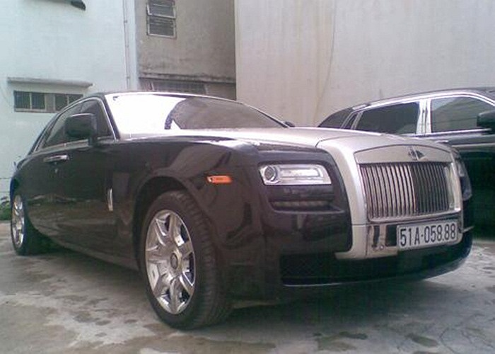 Rolls-Royce Ghost.(Theo Vnexpress)