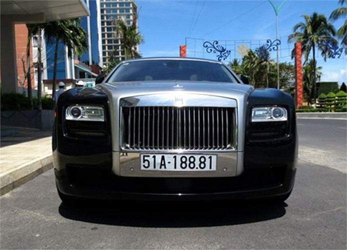 Rolls-Royce Ghost biển đẹp Sài Gòn.(Theo Vnexpress)