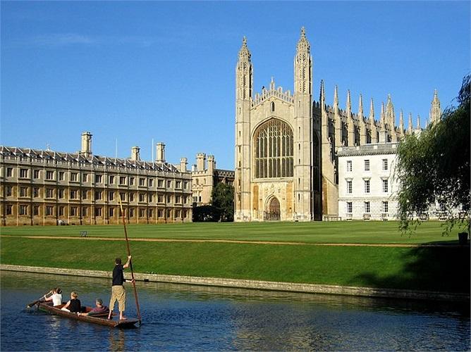3.Đại học Cambridge (Vương Quốc Anh)