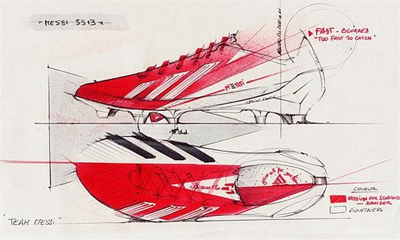 Messi sẽ dùng đôi giày này trong trận lượt về với AC Milan ở Nou Camp