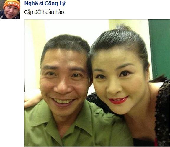 Đây mới gọi là Cặp đôi hoàn hảo: Công Lý, Kim Oanh.