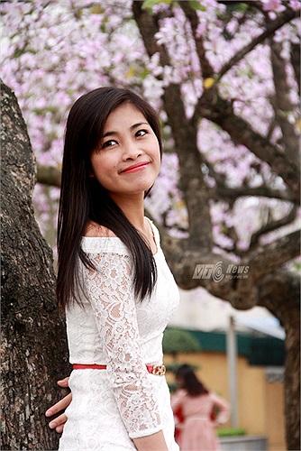Màu lan tím như kiến người thiếu nữ Hà Thành thêm đẹp