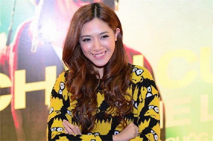 Hotgirl Hà Min sở hữu một vẻ đẹp hết sức ngọt ngào.