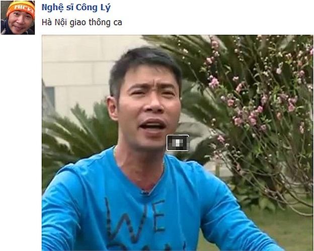 Công Lý chán làm Bắc Đẩu, chuyển sang làm Táo giao thông hát Hà Nội giao thông ca.