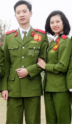 Hoàng Quang Khải và Đỗ Thị Hồng Nhung.