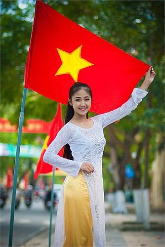 Võ Thị Tính, cô gái sinh năm 1998 hiện đang là học sinh lớp 9 trường THCS Nguyễn Bá Phát, TP Đà Nẵng
