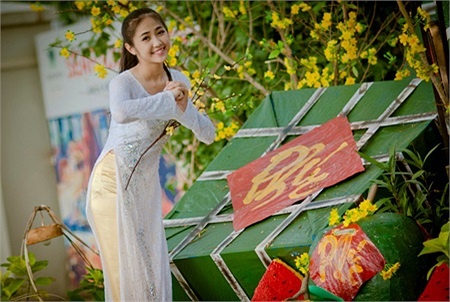 Hiện cô gái này đang là một cái tên nổi bật trong các nữ sinh TP.Đà Nẵng. Tuy nhiên, Võ Thị Tính cũng rất khiêm tốn và không nhận mình là một hotgirl
