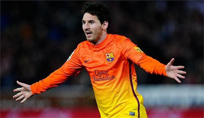 Messi đang là một huyền thoại bóng đá đương đại với thành tích ghi 301 bàn cho Barca sau 8 năm kể từ ngày đá chính cho đội một