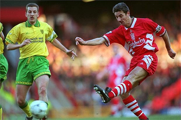 Là một trong số những tiền đạo xuất sắc nhất lịch sử Liverpool, Ian Rush đã có 350 bàn thắng cho đội bóng thành phố cảng