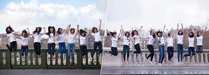 Cuộc thi Miss xuân là một phần trong chương trình Chào Xuân được diễn ra thường niên tại Paris do Hội sinh viên Việt Nam tại Pháp (UEVF) tổ chức.