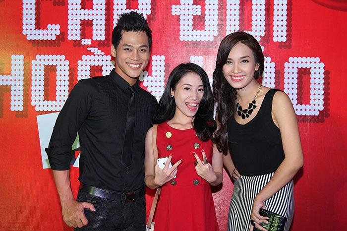 Hằng Bingboong, Phan Ngọc Luân và Ái Phương.