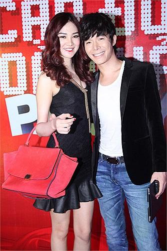 Ngọc Oanh và Nathan Lee, cặp đôi ngọt ngào.