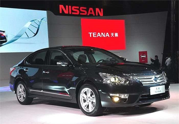 Nissan Teana hay còn gọi là Altima tại Bắc Mỹ vừa trình làng tại Trung Quốc và Malaysia với một số khác biệt so với phiên bản ra mắt ở Mỹ trước đó.