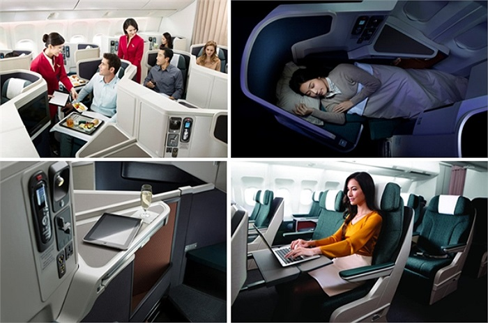 2) Cathay Pacific Airways