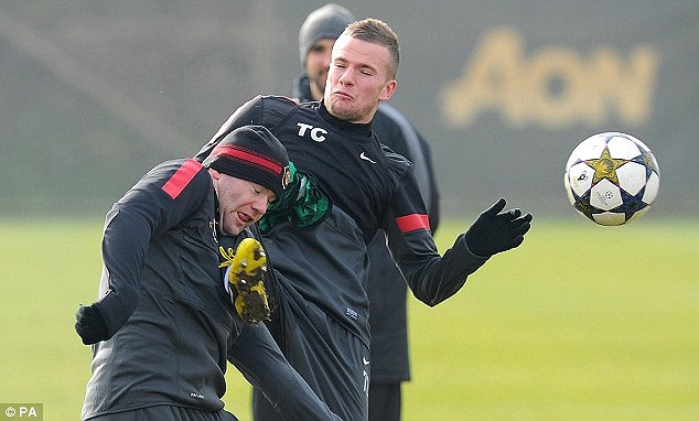 Điểm đến tiếp theo của Rooney suýt chút nữa là phòng nha khoa chứ không phải Old Trafford đêm nay