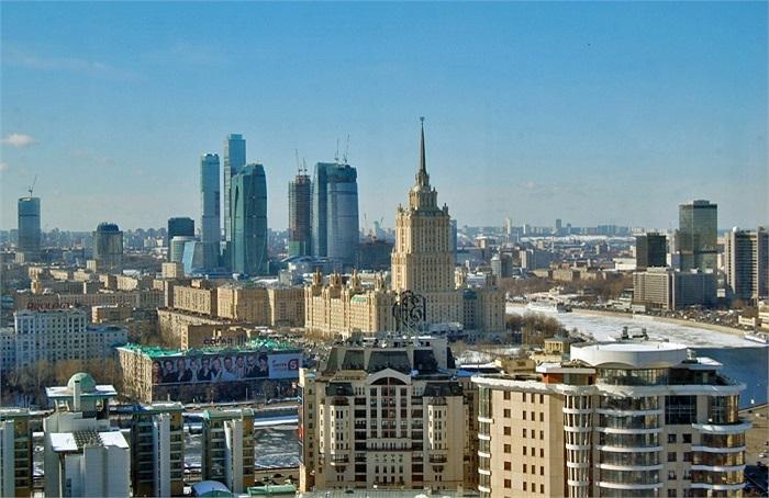 1. Matxcova (Nga): 76 tỷ phú