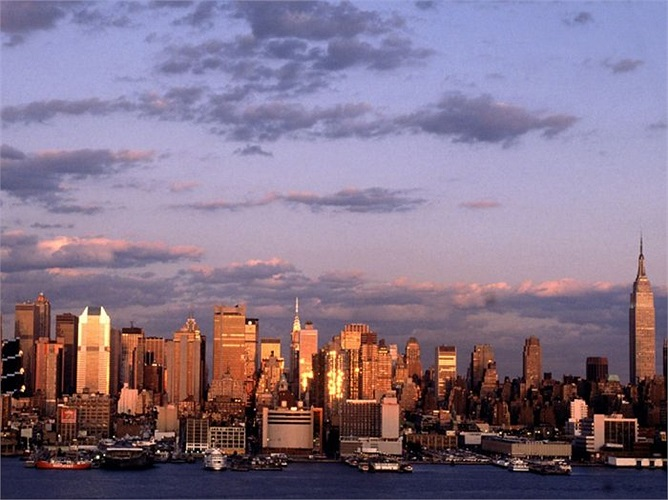 2.New York (Mỹ): 70 tỷ phú