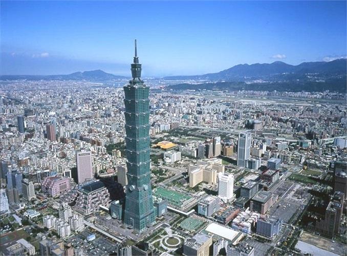 10.Đài Bắc (Đài Loan - Trung Quốc): 22 tỷ phú